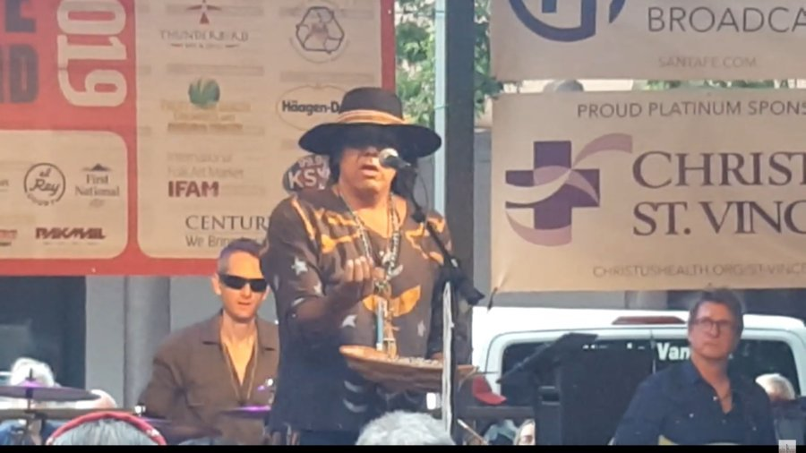 Robert Mirabal Santa Fe, New Mexico – Bandstand Plaza 2019